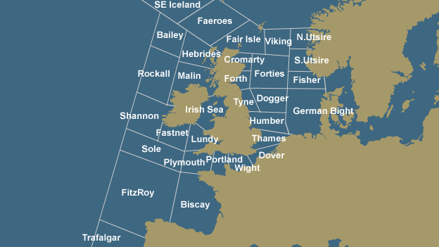 Shipping Forecast Map Scarborough Maritime Heritage Centre | Shipping forecast zones Shipping Forecast Map